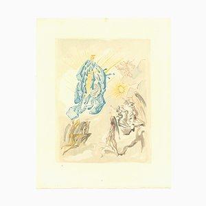 Salvador Dalí, The Apotheosis of Virgin Mary, Original Woodcut, 1963