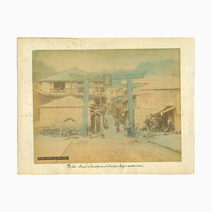 Unknown, Ancient View of Kobe, Vintage Album Print, 1890s