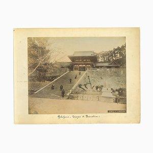 Unknown, Ancient View of Yokohama, Vintage Album Print, 1890s
