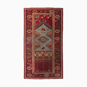 Geometric Mashiny Carpet in Beige with Border and Medallion