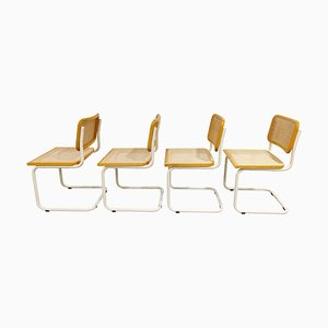 Vintage Chairs by Marcel Breuer for Cesca, Italy, 1970s, Set of 4
