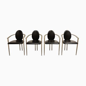 Vintage Dining Chairs from Belgo Chrom, Set of 4