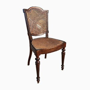 Antique Georgian Cane & Mahogany Chair
