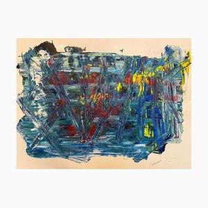 J. Rebourgeard, French Abstract Art, Disparition dans le Vide, 2020