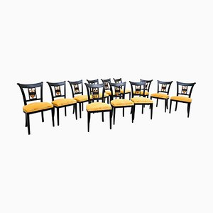 Empire Style Dining Chairs, Set of 12