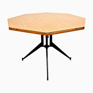 Mid-Century Extendable Dining Table by Carlo Ratti, 1960s