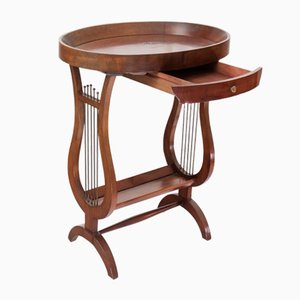 Antique Side Table, 19th-Century