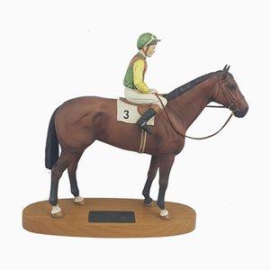 2352 Sculpture of Lester Piggott on Nijinsky from Beswick