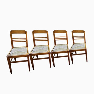 Reconstruction Chairs in the Style of René Gabriel, Set of 8