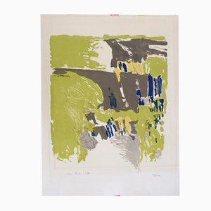Color Lithograph on Van Gelder Zonen Paper by Jörgen Fogelqvist, 1980s