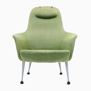 Model Napoli Lounge Chair by Alf Svensson for Dux, 1960s