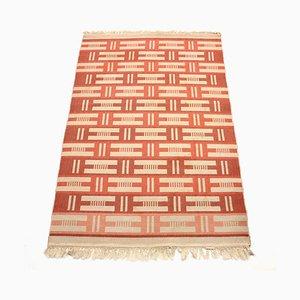 Swedish Flatweave Röllakan Carpet, 1960s