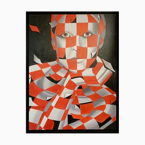Jack Gage, Le Regard, Oil Painting on Canvas