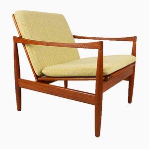 Vintage Danish Teak Easy Chair by Skive Møbelfabrik, 1960s