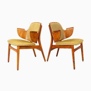 Vintage Danish Armchairs by Hans Olsen for Bramin, 1960s, Set of 2