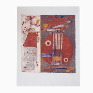 December 27, 1967, Lithograph on Arches Paper by Pierre Courtin, 1976