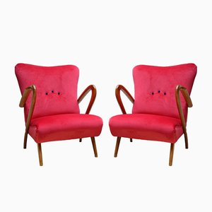 Chairs by Guglielmo Ulrich, Italy, 1940s, Set of 2