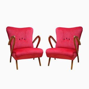 Stühle von Guglielmo Ulrich, Italien, 1940er, 2er Set