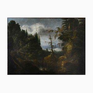 Large Italian Landscape, 18th Century