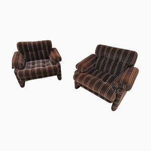 Coronado Chairs by Tobia Scarpa for B&B Italy / C & B Italy, 1970s, Set of 2