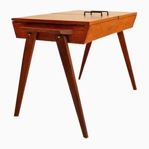 Vintage Model 3435 Teak Sewing Table, 1960s