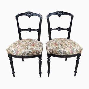 Napoleon III Chairs, Set of 2