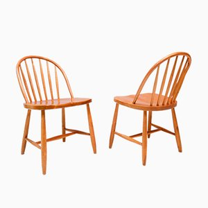 Lounge Chairs, Sweden, 1950s, Set of 2