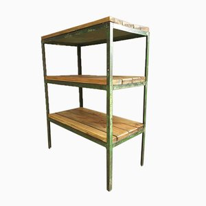 Industrial Shelving Unit Table