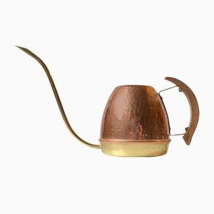 Scandinavian Brass and Copper Watering Jug, 1960s