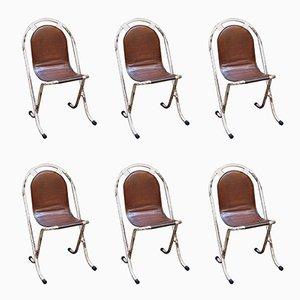 Stak-a-Bye Stühle von Sebel, 1940er, 6er Set