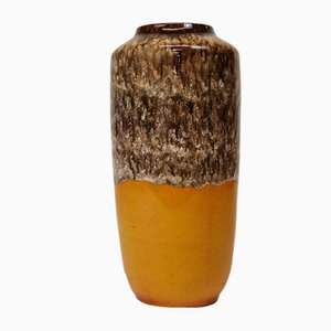 517-45 West German Pottery Fat Lava Vase from Scheurich Keramik, 1960s
