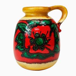 Large West German Ceramic Pottery Vase, 1960s