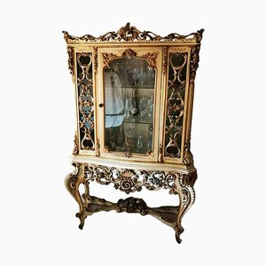 Baroque-Style Dining Room Display Cabinet