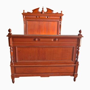 Antique Pine Double Bed