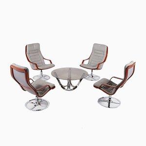 Seating Group by G-Möbel, Sweden, Set of 5