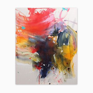 Colour Bomb, Abstract Painting, 2021