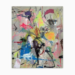 Untitled21F, Abstract Painting, 2021