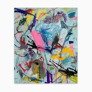 Untitled21E, Abstract Painting, 2021
