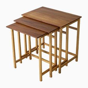 Mahogany Nesting Tables by Josef Frank for Svenskt Tenn