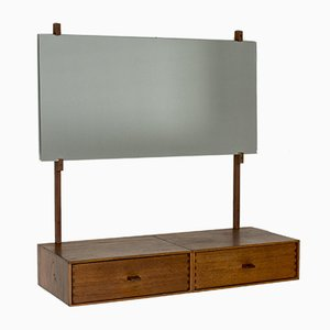 Wall Dressing Table by Uno & Östen Kristiansson for Luxus