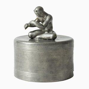 Pewter Jar by Nils Fougstedt for Svenskt Tenn