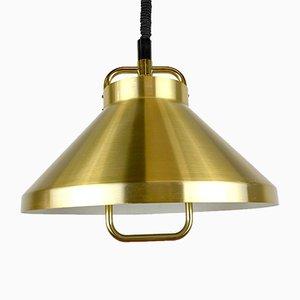 Danish Brass Lamp by Jo Hammer for Fog & Mørup