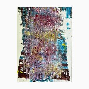 J. Rebourgeard, La Coulée du Temps, French Abstract Contemporary Art, 2019