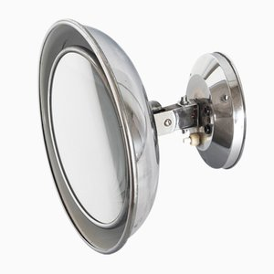 Adjustable Magnifying Mirror with Built-In Lighting, France, 1940s