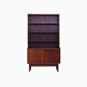Danish Rosewood Bookcase by Johannes Sorth for Bornholm, 1960s