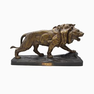Bronze Lion by Paul Thomas