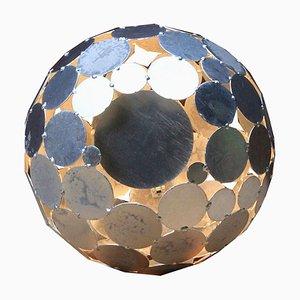 Decorative Galvanized Garden Globe Lamp