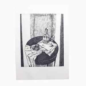 Lithograph, Peter Stettler, 1973