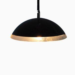 Lámpara colgante italiana negra de Harvey Guzzini