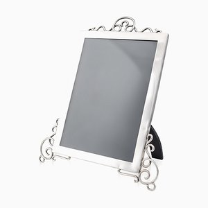 20th Century Edwardian Solid Silver Large Photo Frame, 1905